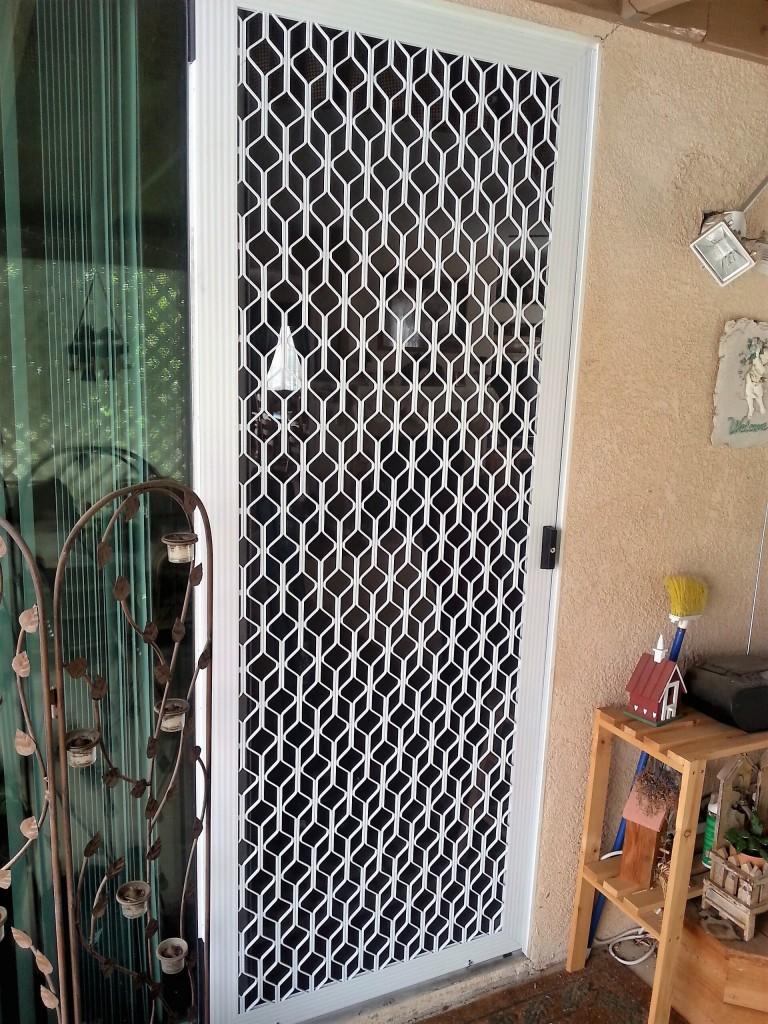home security screen doors