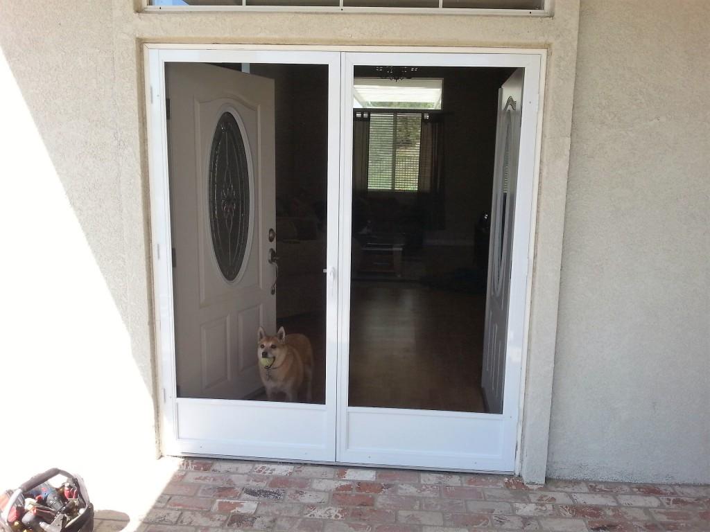 doors with doorstop on french door patio ideas pinterest single screen best info screens